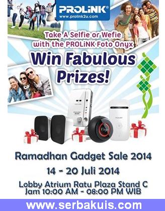 Kontes Selfie Berhadiah Menarik dari Prolink di Ratu Plaza