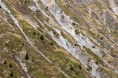 Eroded Alps