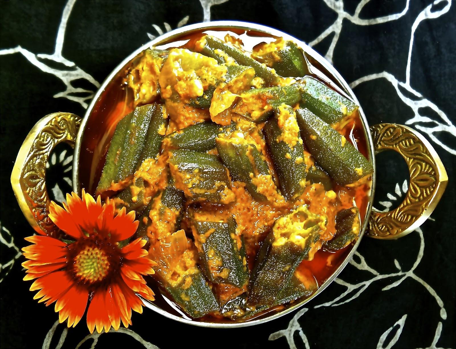 Keep Calm & Curry Dahi Bhindi Curried Okra with Yogurt