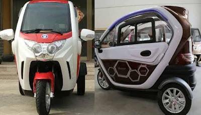 Inikah Wujud Motor Roda Tiga Yang Jadi Trending Topik Otomotif