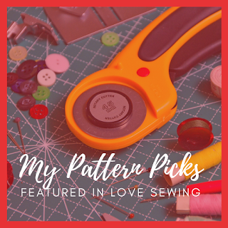 My Sewing Pattern Picks magazine feature