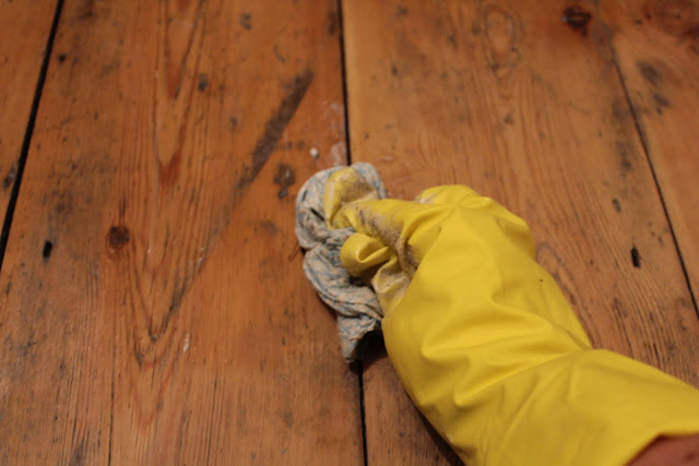 Treating Victorian Floorboards