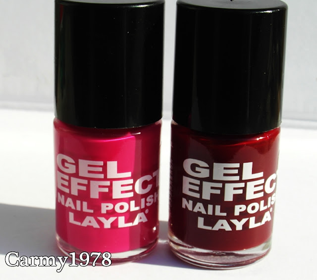 smalti gel effect layla cosmetics