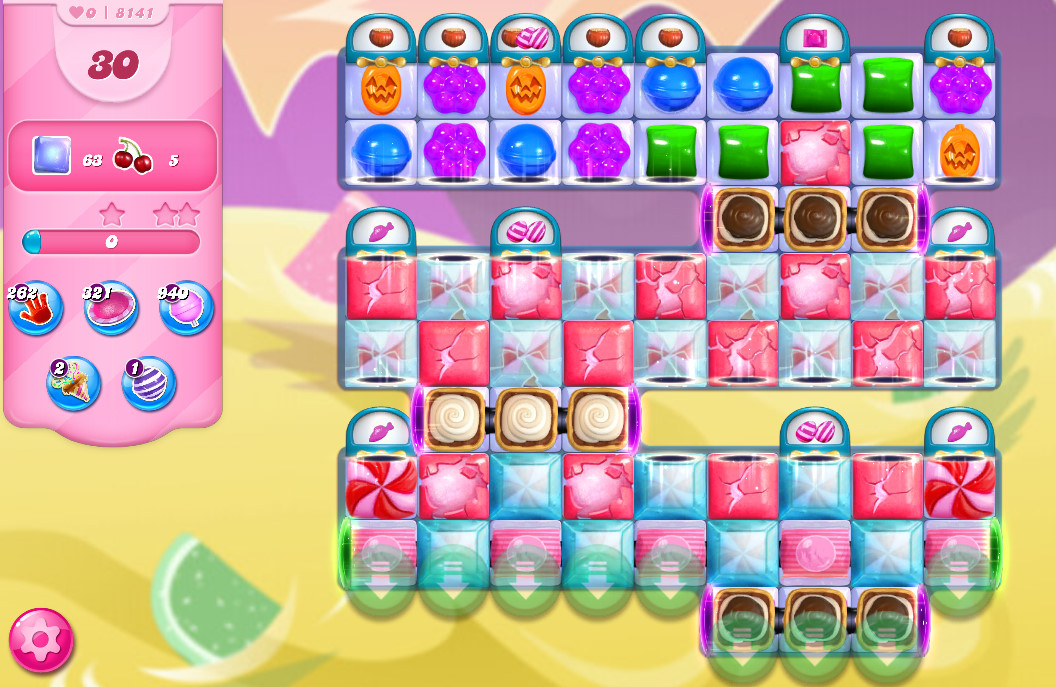 Candy Crush Saga level 8141