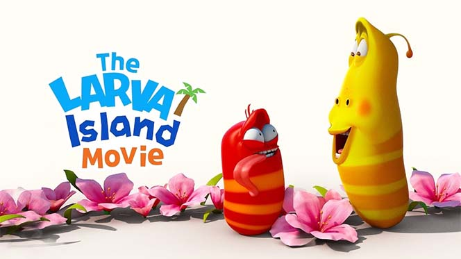 Isla Larva: La película (2020) Web-DL 720p Latino-Castellano-Ingles