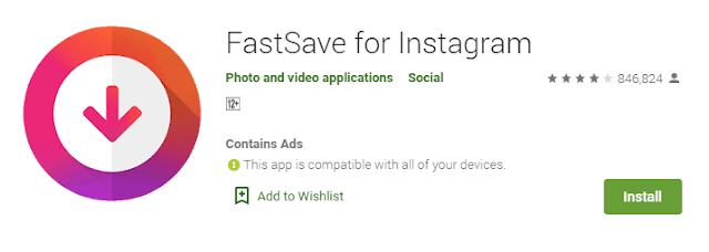 2 Aplikasi Untuk Mengunduh Video Instagram APK Sederhana Terbaik