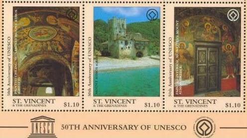 13427 - Το Άγιο Όρος στον κατάλογο της Παγκόσμιας Πολιτιστικής Κληρονομιάς. 4 Απριλίου 1988.