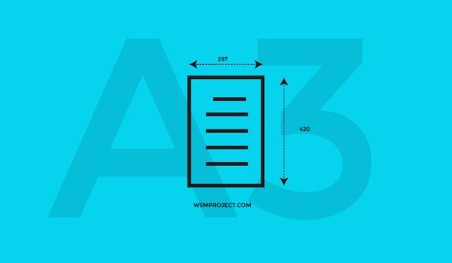 ukuran kertas a3