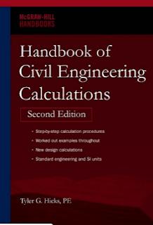 HANDBOOK OF CIVIL ENGINEERING CALCULATIONS By Tyler G. Hicks