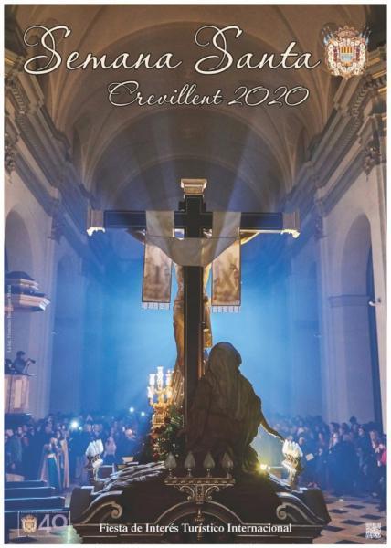 Programa con los Horarios de la Semana Santa Crevillent (Alicante) 2020