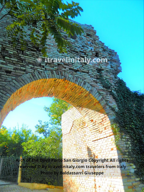 Arch of the Devil Porto San Giorgio Copyright All rights reserved © By itravelinitaly.com travelers from Italy Photo by Baldassarri Giuseppe