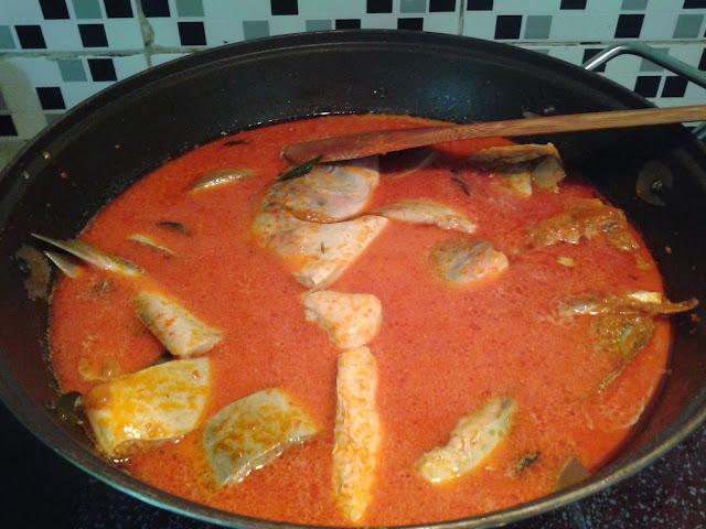 Resepi Kari Ikan Mayong