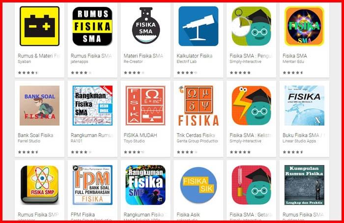 17 Aplikasi Belajar Fisika untuk Anak Sekolah [Download]