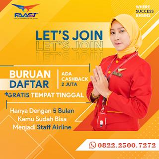 Pendaftaran FAAST Penerbangan Tahun 2020/2021 Telah Dimulai Ini Jadwalnya