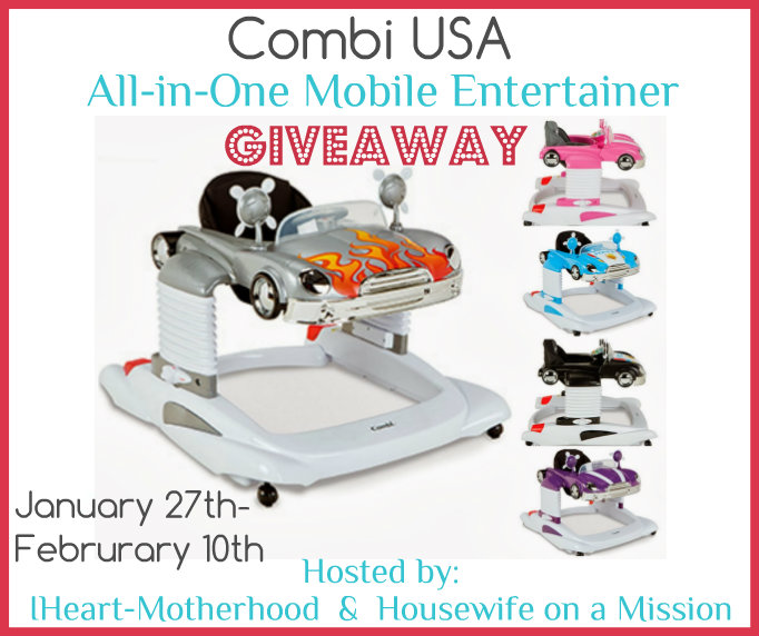 Mail4rosey Combi Usa Mobile Entertainer For Baby Giveaway
