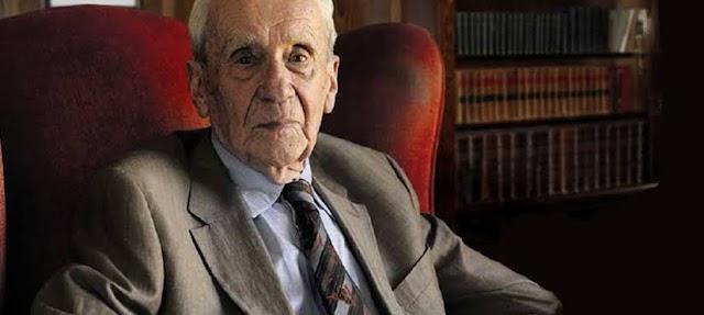 Christopher Tolkien, escritor e filho de J.R.R. Tolkien, falece aos 95 anos
