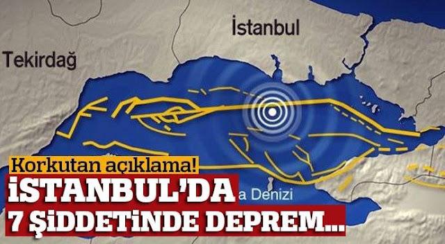 İstanbul deprem haritası: Büyük İstanbul depremi olacak mı? İstanbul depremi nereleri etkileyecek?