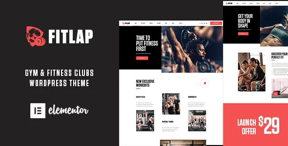 Best Gym & Fitness Club WordPress Theme