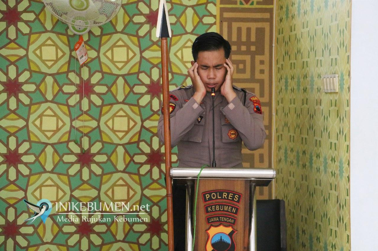 Enam Peserta Wakili Polres Kebumen pada Lomba MTQ dan Azan Tingkat Polda Jateng