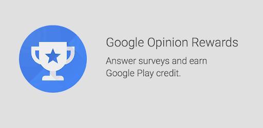 Google Opinion Rewards: gana dinero para la Google Play Store