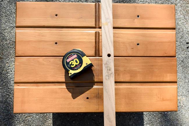 Measuring drawers