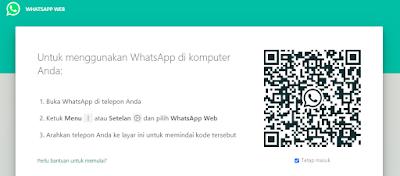 Cara Menggunakan WhatsApp Web di Leptop dan PC