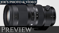 Sigma 50-100mm f/1.8 DC HSM Art Lens Announcement | Preview