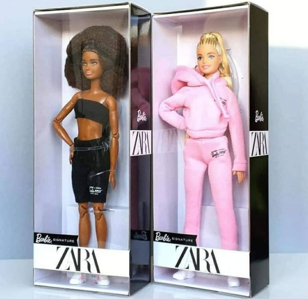 Куклы Barbie X Zara 2021