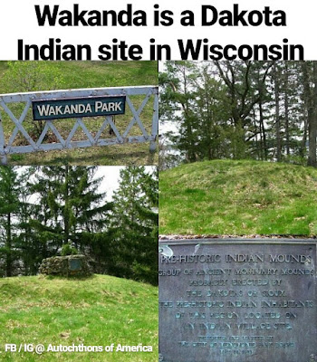 wakanda park indian mounds america black panther