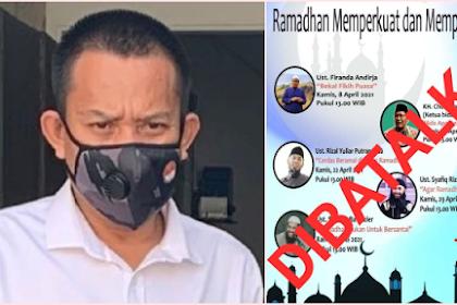 Astaga! Pejabat yang Gelar Kajian Online Ramadan Dicopot, Komisaris PT Pelni Sebut Radikalism