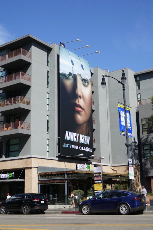 Nancy Drew CW series billboard