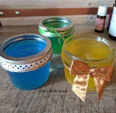 Gel air fresheners DIY