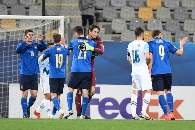Europei Under 21, l'Italia travolge 4-0 la Slovenia e vola ai quarti di finale