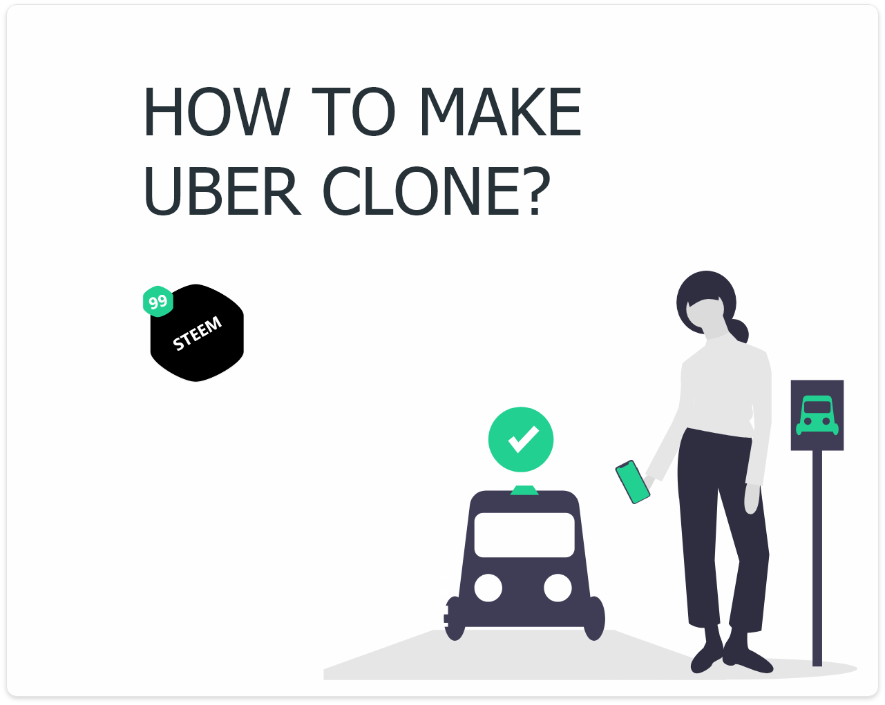 How to make a Uber Clone app template from scratch