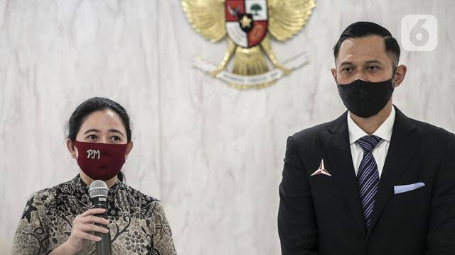 AHY Bahas Pilkada dengan Puan Maharani, Titip Salam untuk Megawati