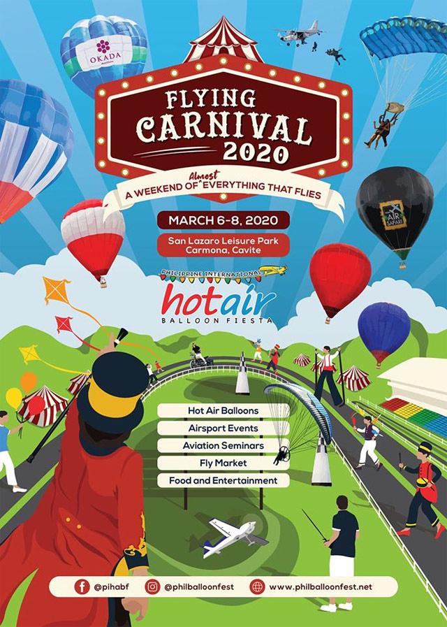 Philippine International Hot Air Balloon Festival 2020