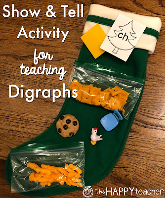 Activity for teaching digraphs and free printable