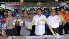 Jelang Ops Lilin Candi 2019 Polres Batang Berhasil Ungkap Kasus Narkoba, Upal Dan Illegal Loging