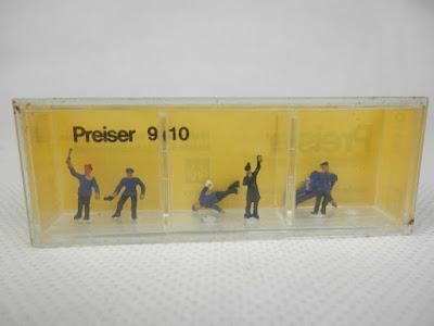 Preiser 9010 Railway Personnel