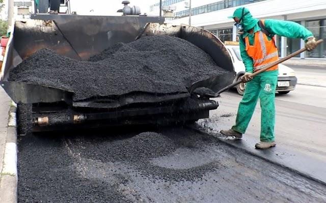 Prefeitura autoriza recapeamento asfáltico de dezenas de ruas