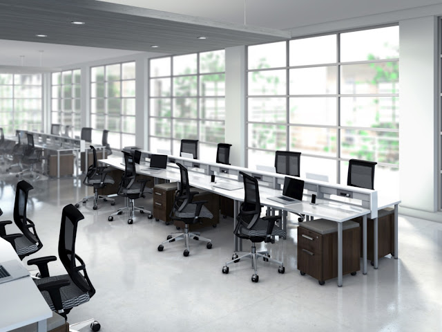 The office furniture blog at office for Modern office cubicles