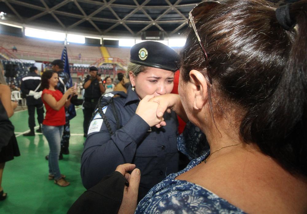 A Prefeitura de Fortaleza empossou hoje pela manhã, no ginásio Paulo  Sarasate, mais 60 candidatos aprovados para o cargo de guarda municipal do  concurso ... e2947e29c2