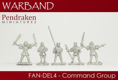 FAN-DEL4   5-man Command Group