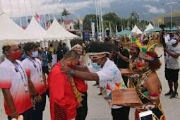 Yunus Wonda dan Suwarno Terima Kontingen DKI Jakarta, Kalteng dan Lampung di Jayapura