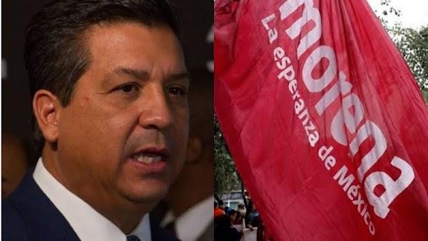 """""""Te vas a quedar sin fuero"""", advierte MORENA al gobernador Cabeza de Vaca"""