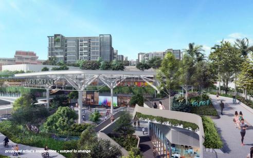 Pasir Ris MRT Mixed Development - Town Centre