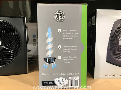 Vornado Whole Room Air Circulator helps prevent your room from getting stuffy