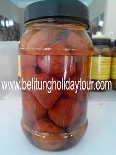 asinan kelubi cemilan snack oleh - oleh khas bangka belitung