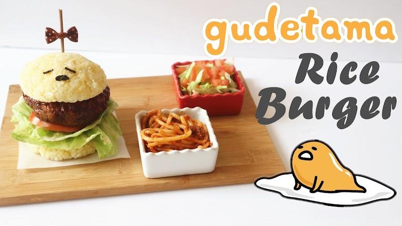 Gudetama Rice Burger 蛋黃哥米漢堡