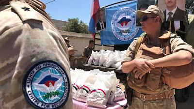 humanitarian response center in Stepanakert